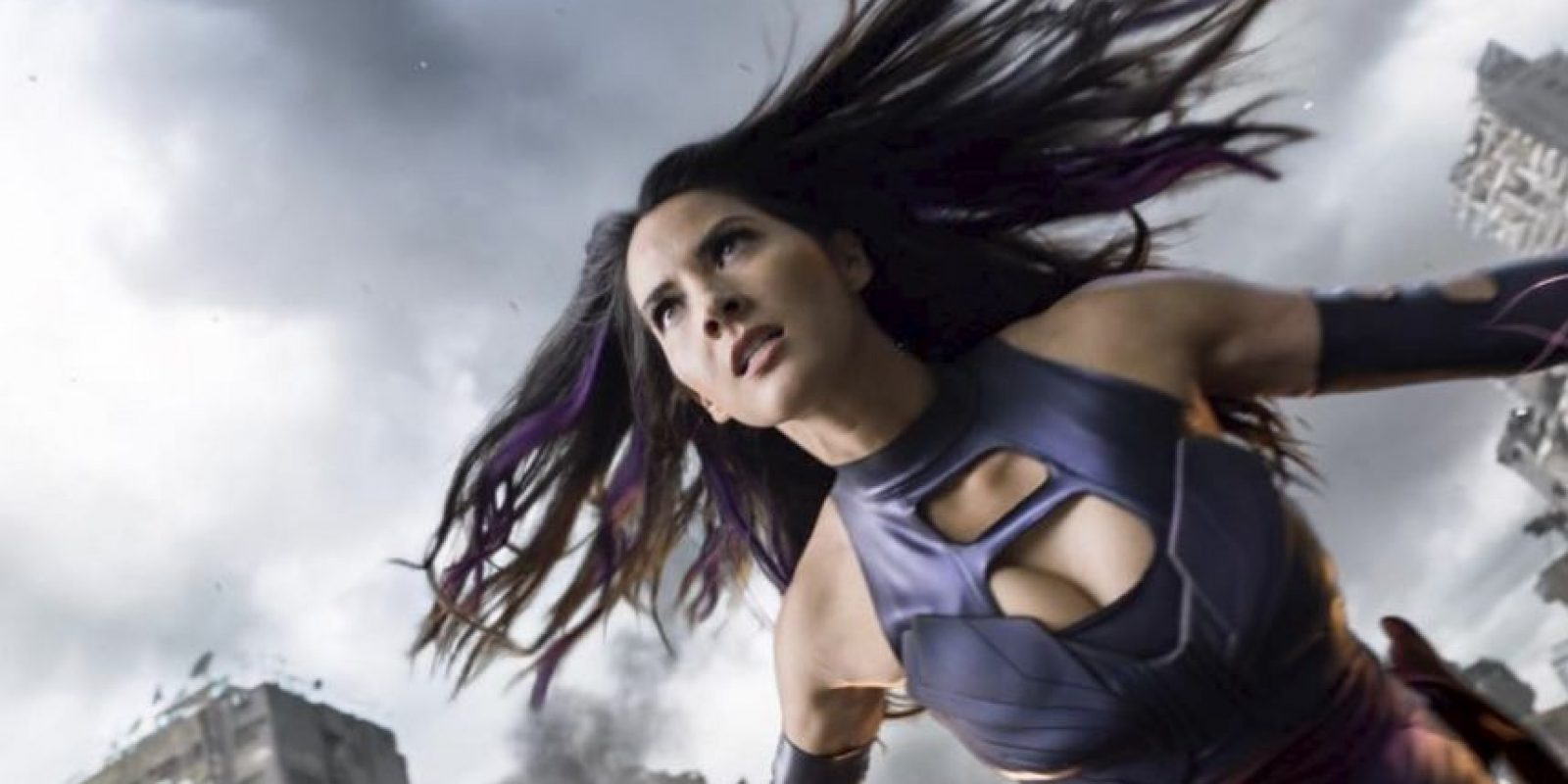 """Uno de los """"cuatro jinetes del Apocalipsis"""", según la trama de Marvel Cómics Foto:vía instagram.com/oliviamunn"""