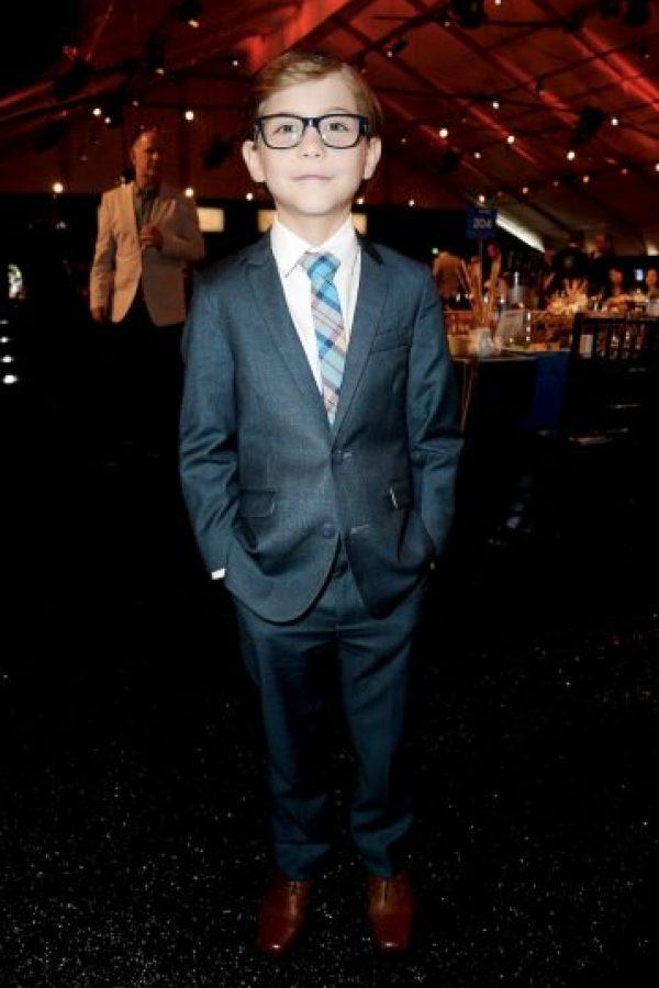Y promete ser uno de los nuevos talentos de Hollywood Foto:Getty Images