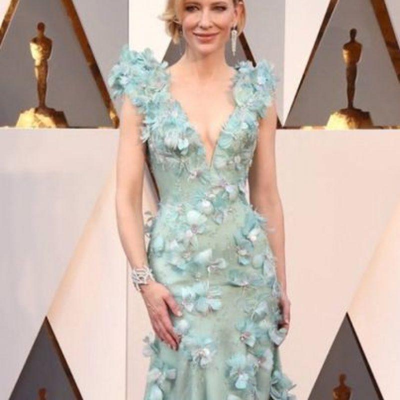 Una obra de arte, el Armani de Cate Blanchett Foto:vía Getty Images
