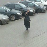 Imágenes de la niñera de Moscú, captadas por Metro Moscú Foto:Vasily Kuzmichenok, Publimetro en Moscú