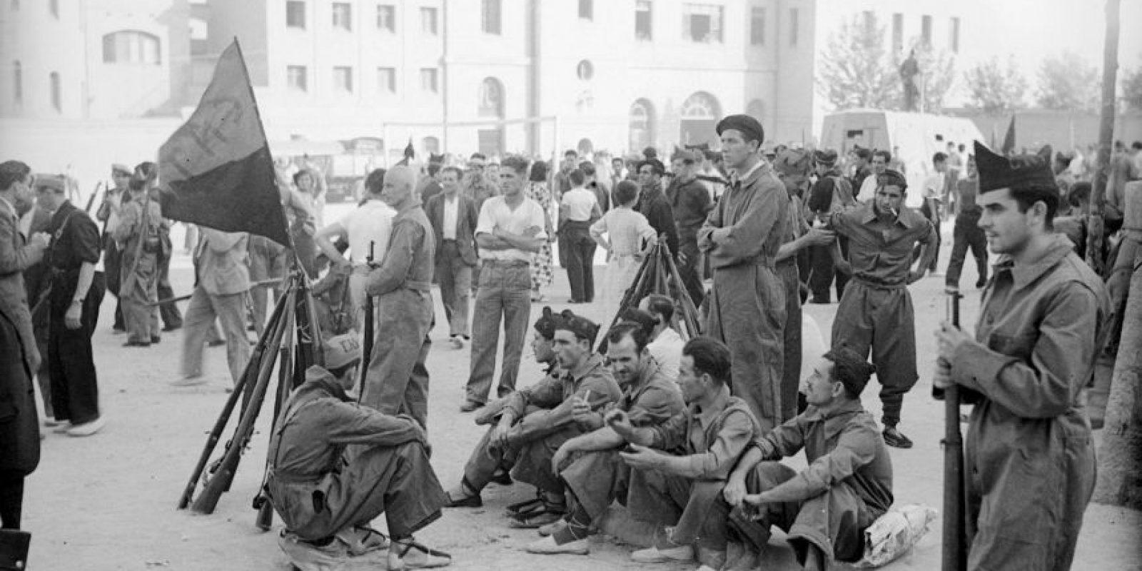 El año 1936, marcó el inició de la Guerra Cilvil española. Foto:Getty Images