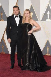 Otro de los grandes momentos de la noche, fue su reunión con Kate Winslet Foto:Getty Images