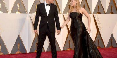 Así vivió Kate Winslet el triunfo de DiCaprio Foto:Getty Images