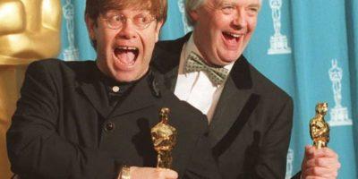 """En 1995, Elton John ganó el Oscar a """"Mejor Canción Original"""" por la película """"El Rey León"""". Foto:vía Getty Images"""