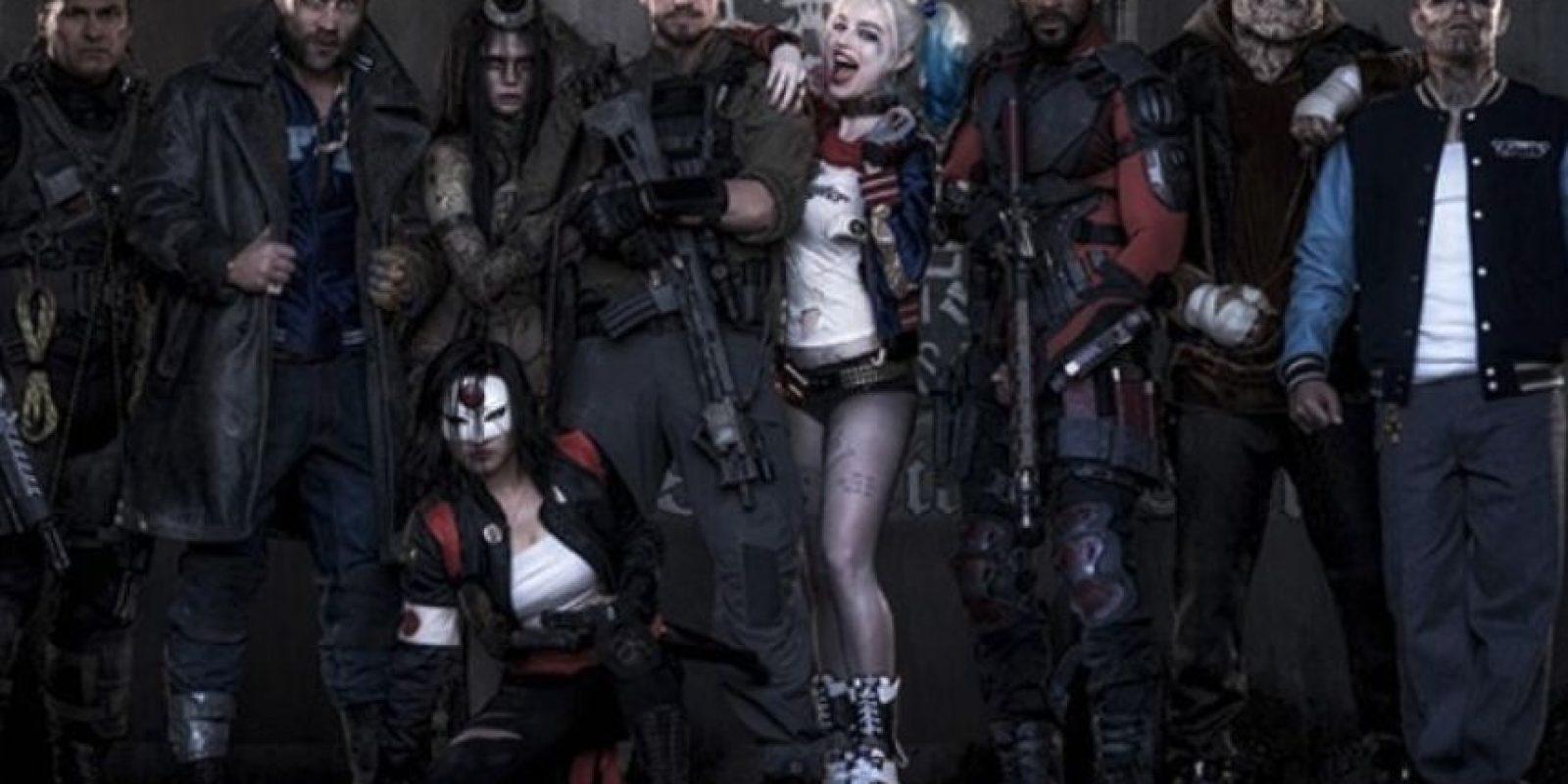 """""""Suicide Squad""""/5 de agosto de 2016. F Foto:DC Entertainment"""