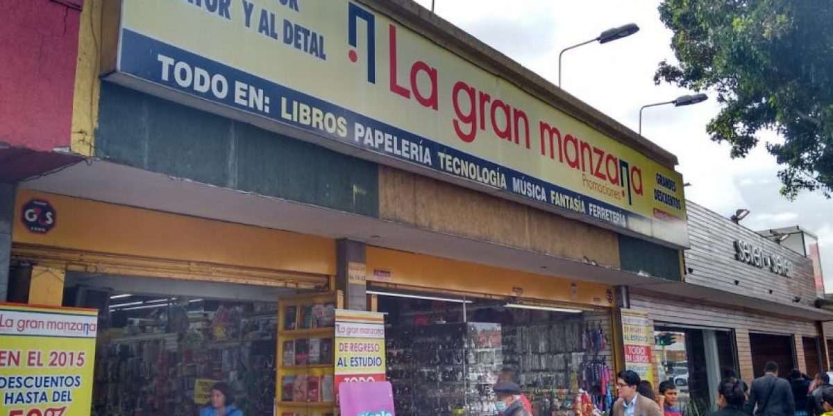De paseo por La gran manzana... en Bogotá