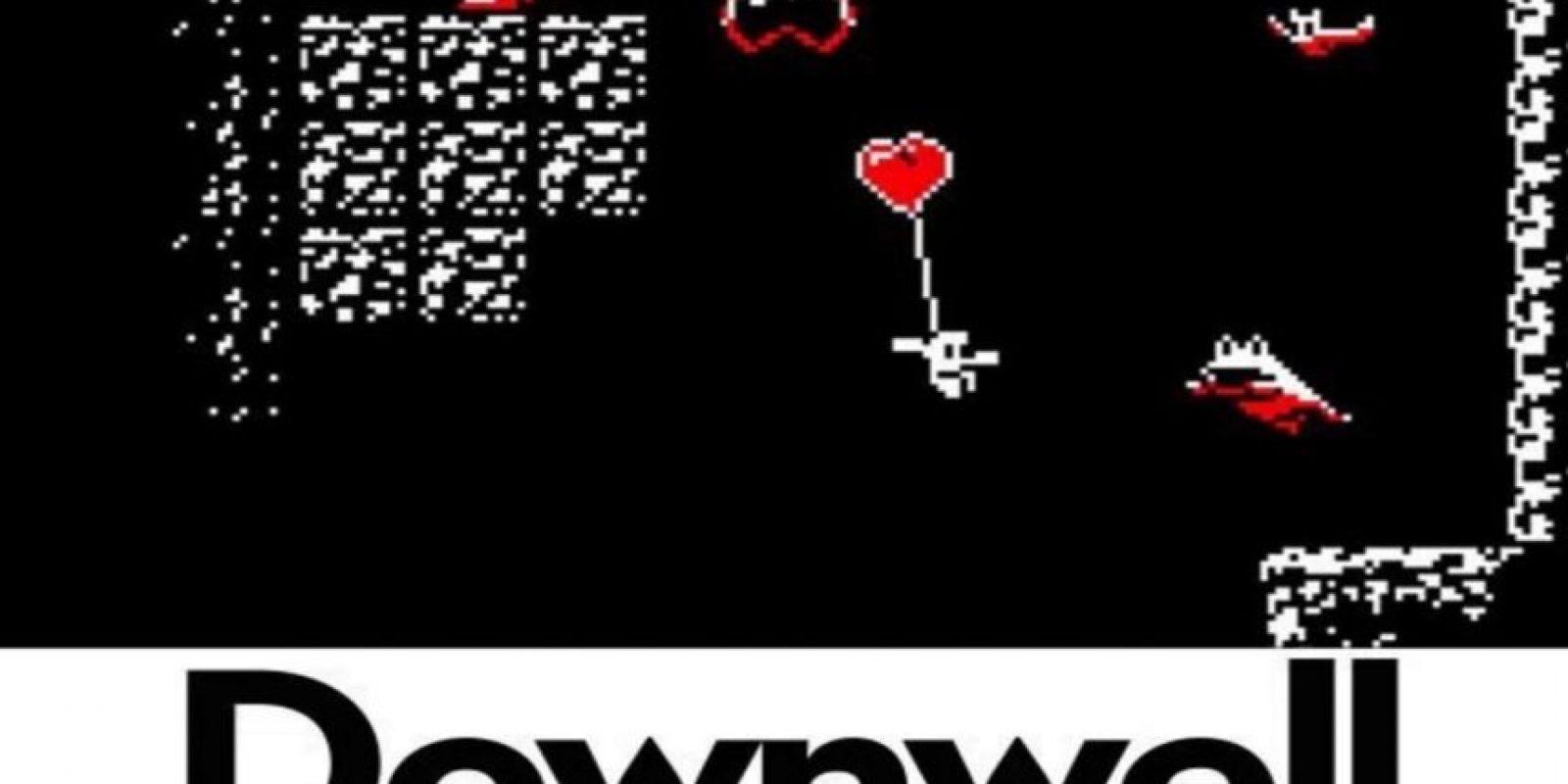 6.- Downwell. Bajen lo más que puedan acabando con sus enemigos, entre más abajo lleguen, más poderes obtendrán. Foto:Downdell