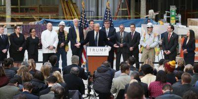Seis meses antes de Trump anunció su campaña fue nombrado jefe de campaña Foto:Getty Images