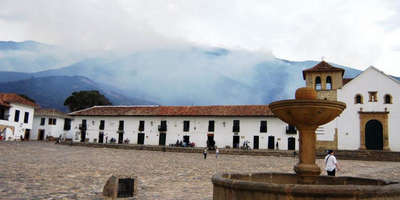 El tercer pueblo más bonito para El País es Villa de Leyva, afectado en los últimos años por varios incendios forestales Foto:EFE