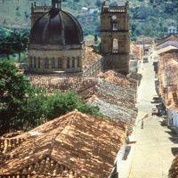 Vista de una calle de Barichara, el más bello municipio de Colombia para el diario El País de Madrid. Foto:EFE