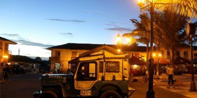 Salento se ha convertido en un gran centro turístico por su belleza y sus palmas de cera. Foto:EFE