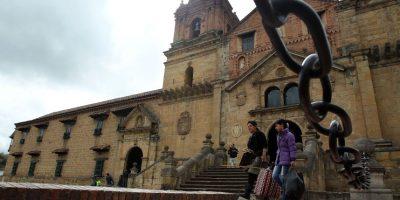 Monguí, más famoso en Colombia como fábrica de balones, es reconocido como uno de los más bonitos pueblos del país. Foto:EFE