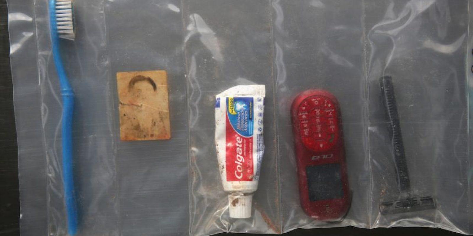 Es lo que cargaban los migrantes consigo Foto:Getty Images