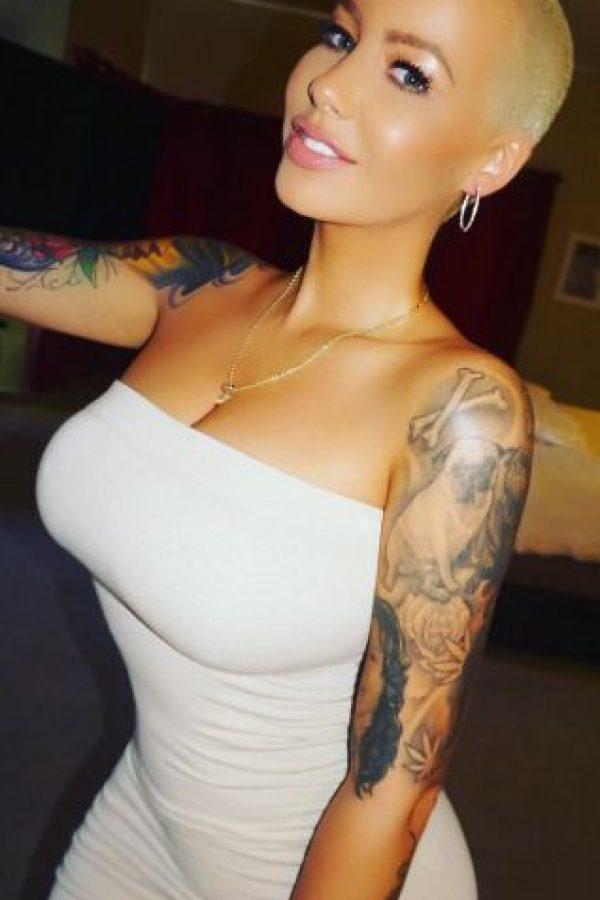 """En el video filtrado por su compañero de equipo asegura que Amber conoce que """"mi mujer es Iggy"""" Foto:Vía instagram.com/amberrose"""