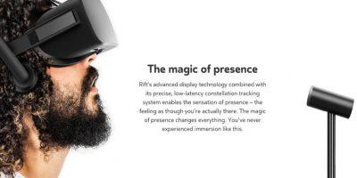 Esta tecnología te permitirá jugar en realidad virtual. Foto:Oculus Rift