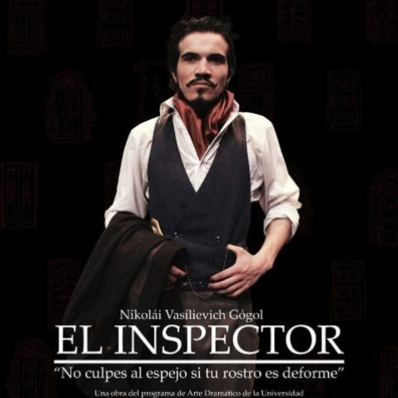 El inspector es una de las obras más importantes del teatro ruso, dirigida por Diego Barragán. Foto:Cortesía Pequeño Teatro de Medellín