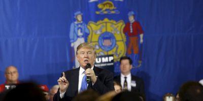 Su competencia directa en el Partido Republicano es el precandidato Ted Cruz. Foto:AP