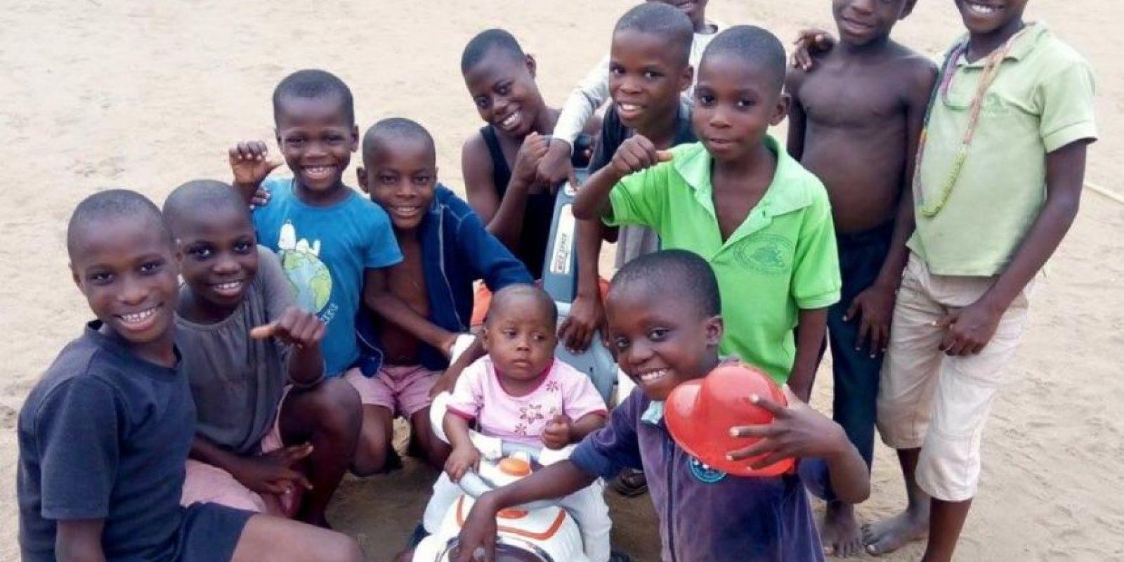 Anja Ringgren fundó African Children's Aid Education and Development Foundation el 21 de de mayo de 2014 Foto:facebook.com/anja.loven/
