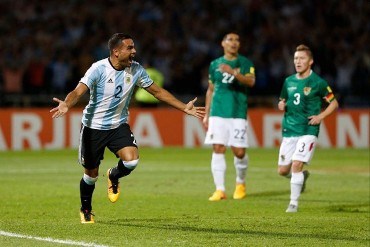 Con goles de Gabriel Mercado. Foto:Getty Images