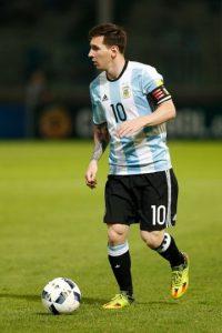 Y Lionel Messi de penal. Foto:Getty Images