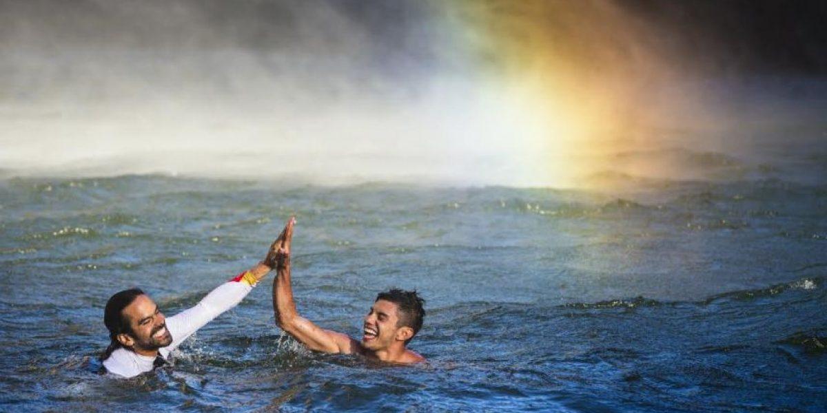 Fotos: Orlando Duque conquista las cataratas más altas de África