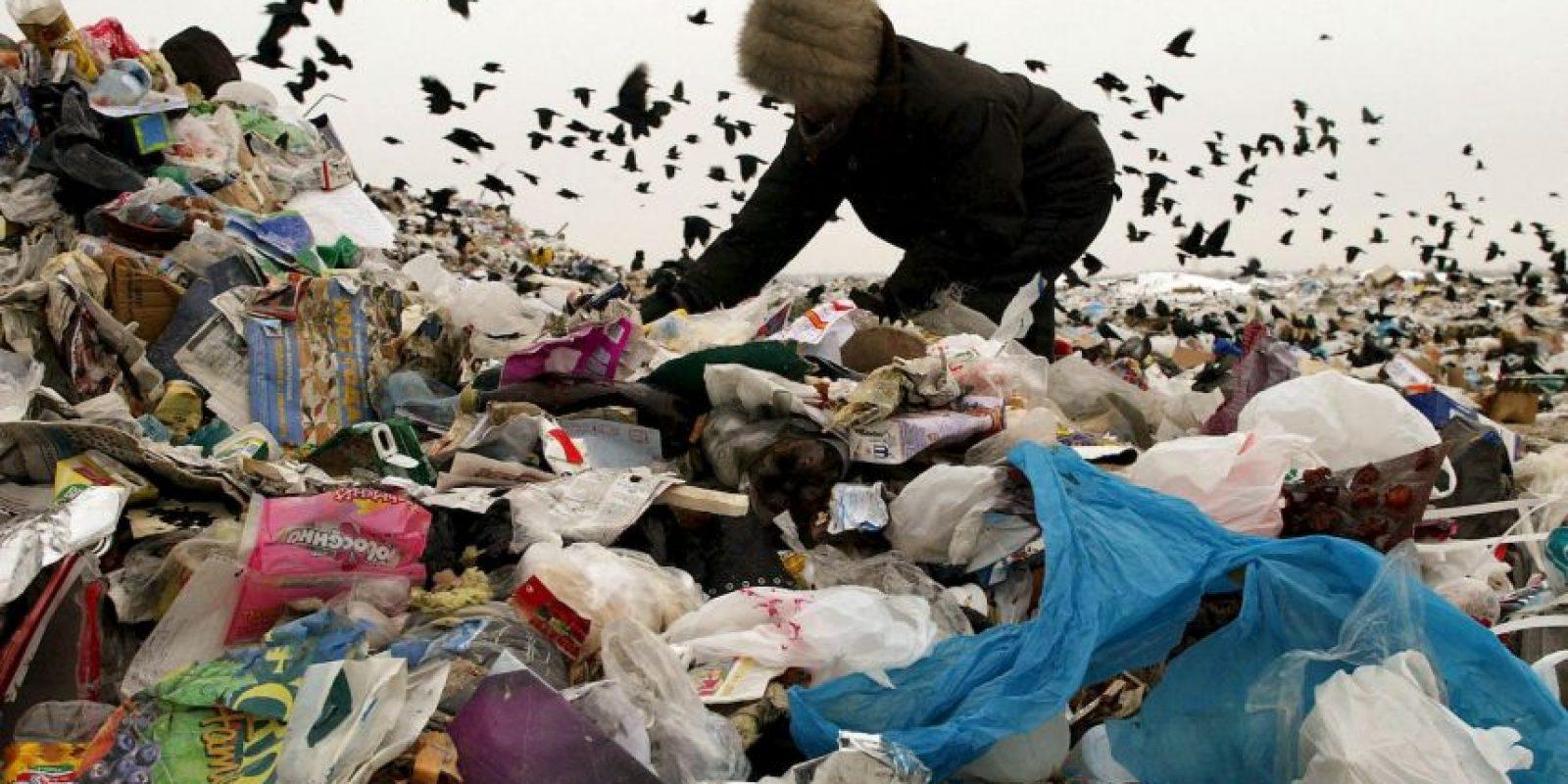 Equivale a cerca de mil 300 millones de toneladas al año. Foto:Getty Images
