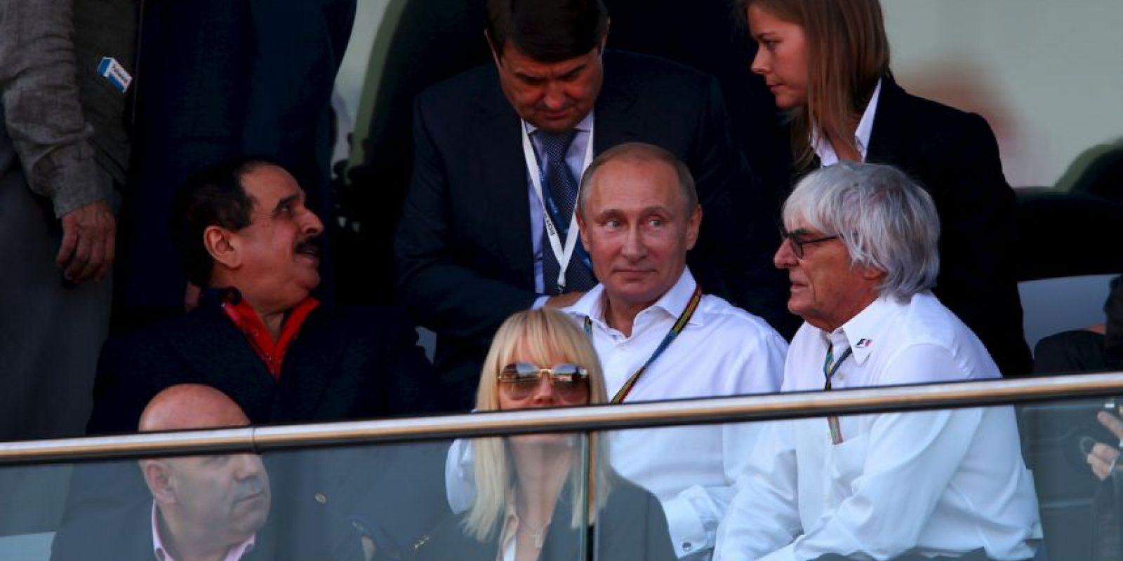 El presidente ruso es experto en judo y también le gusta el hockey. Foto:Getty Images