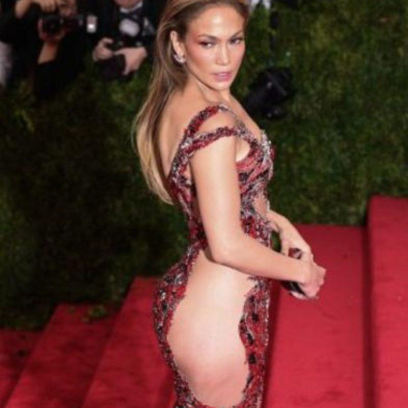 Jennifer Lopez por su cuerpo. Foto:vía Getty Images