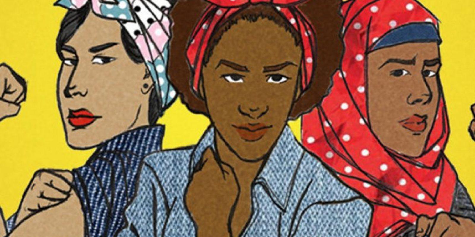 """""""Ey reguetonero macho: escucha lo que digo, de mujeres no sabes, ahora aprenderás conmigo. Ponte mocasines, corbata y guardapolvo ven a mi escuela a aprender lo que es echarse un polvo"""". Chocolate Remix 'Lesbian Reggaetón'. Foto:vía Tumblr"""