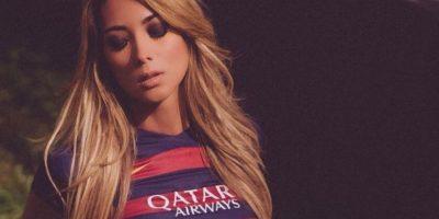 """Es modelo y ganadora del certamen """"Miss Brasil USA"""", y además, hincha del Barça. Foto: Vía instagram.com/liviagullo"""