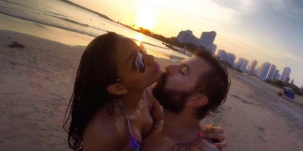 La señorita Colombia, Andrea Tovar, sigue feliz con su novio