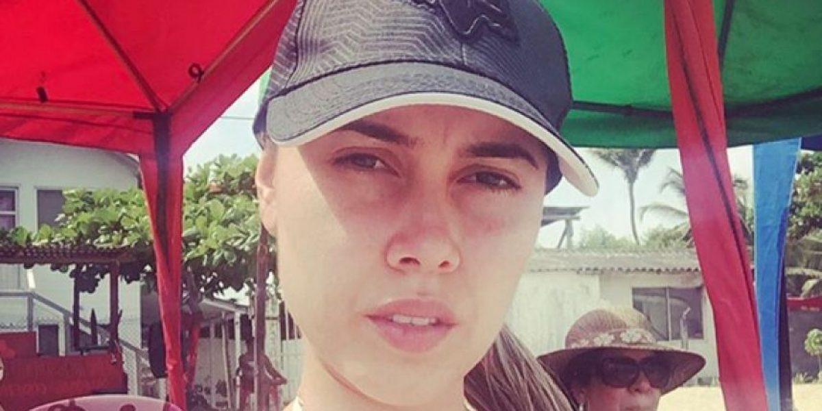 La exprotagonista Manuela Gómez se une a la marcha en contra Santos