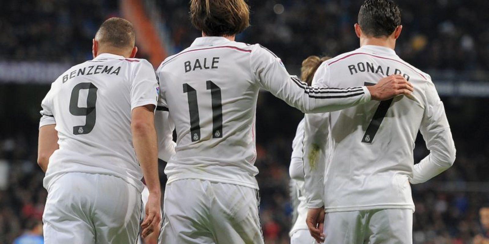 """La """"BBC"""" es el tridente conformado por Gareth Bale, Karim Benzema y Cristiano Ronaldo. Foto:Getty Images"""