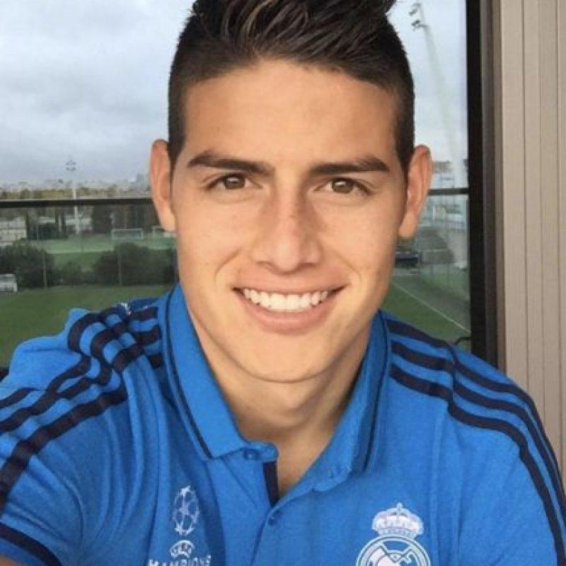 James Rodríguez (Real Madrid) Foto:Vía instagram.com/jamesrodriguez10