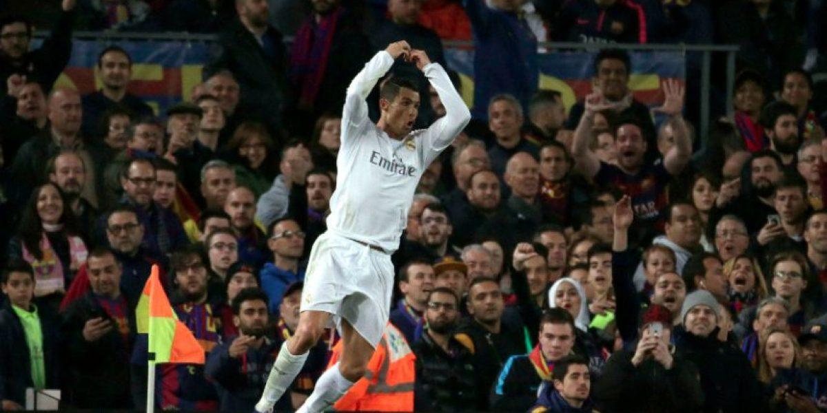 Cristiano Ronaldo celebra el triunfo del Real Madrid en calzoncillos