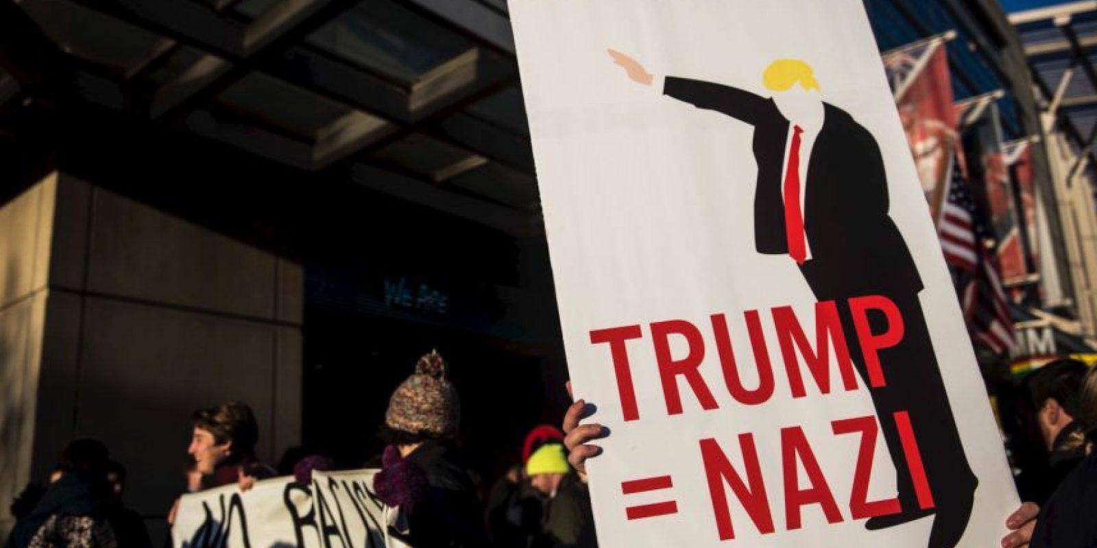 Y de incitador del odio. Foto:vía Getty Images