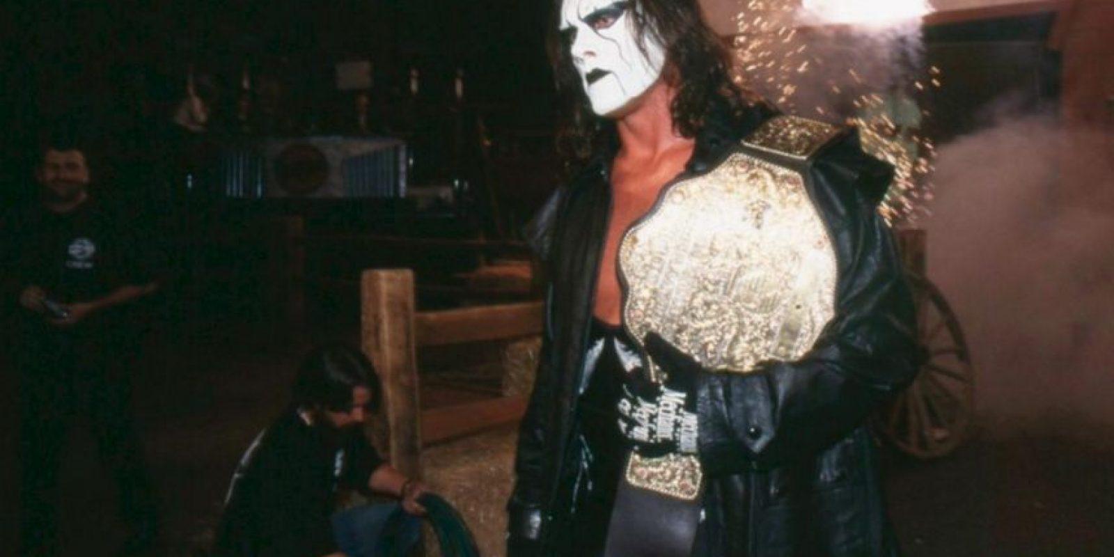 Es 8 veces Campeón de Pesos Pesados de la WCW. Foto:WWE