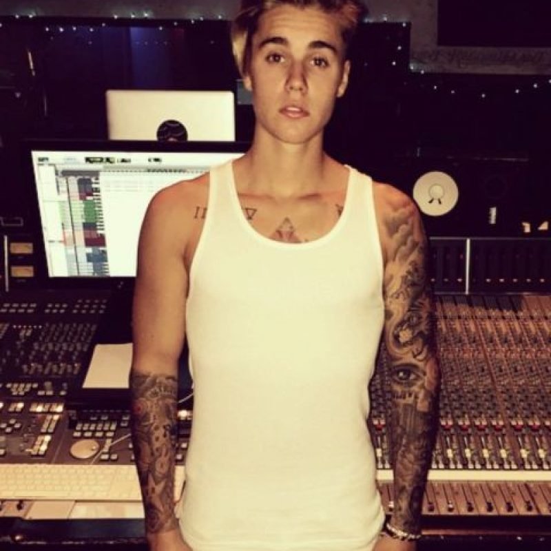 Pero Bieber ha sabido arriesgarse. Foto:vía Instagram