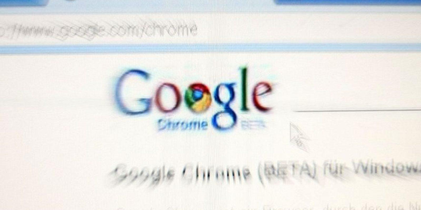 Google Chrome es de los navegadores con mejores críticas en la web. Foto:Getty Images