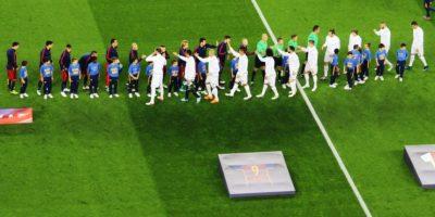 Para presenciar el duelo entre Barcelona y Real Madrid de la Liga BBVA. Foto:Hilario Alcayaga
