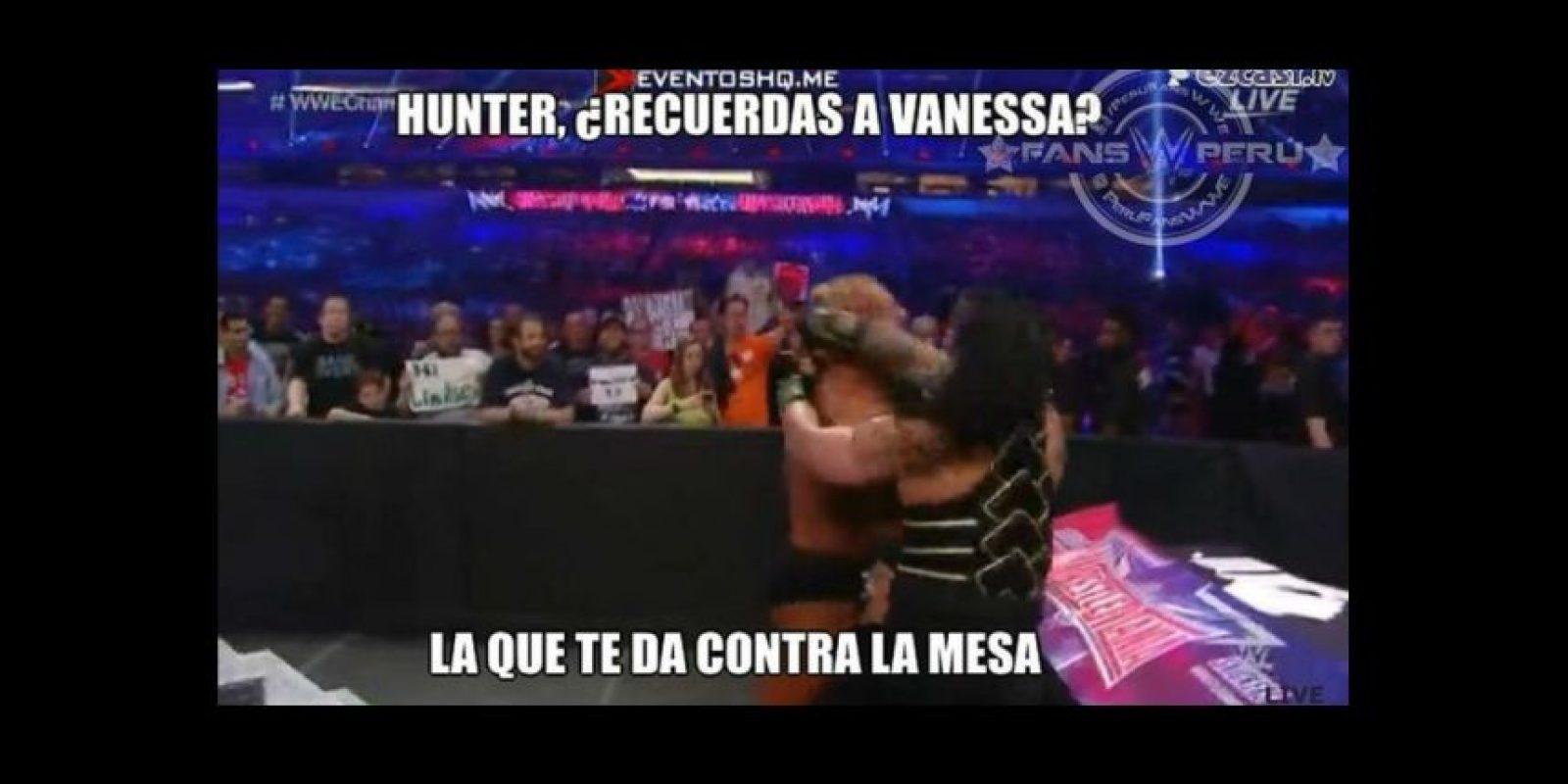 Los memes más graciosos de Wrestlemania 32 Foto:Twitter