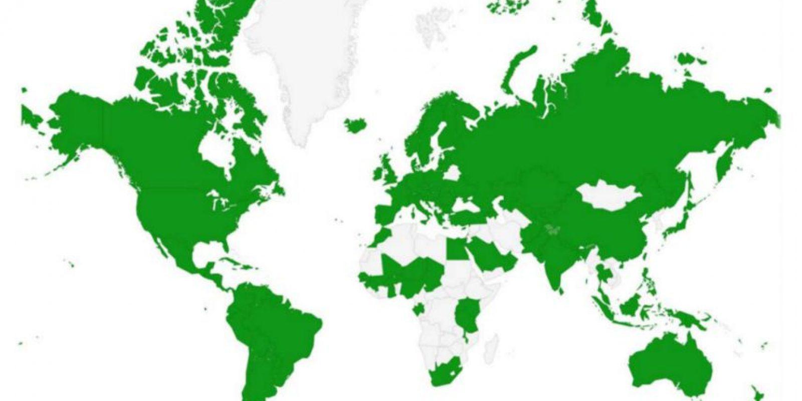 Tiene alianzas con compañías telefónicas alrededor del mundo. Foto:ChatSim