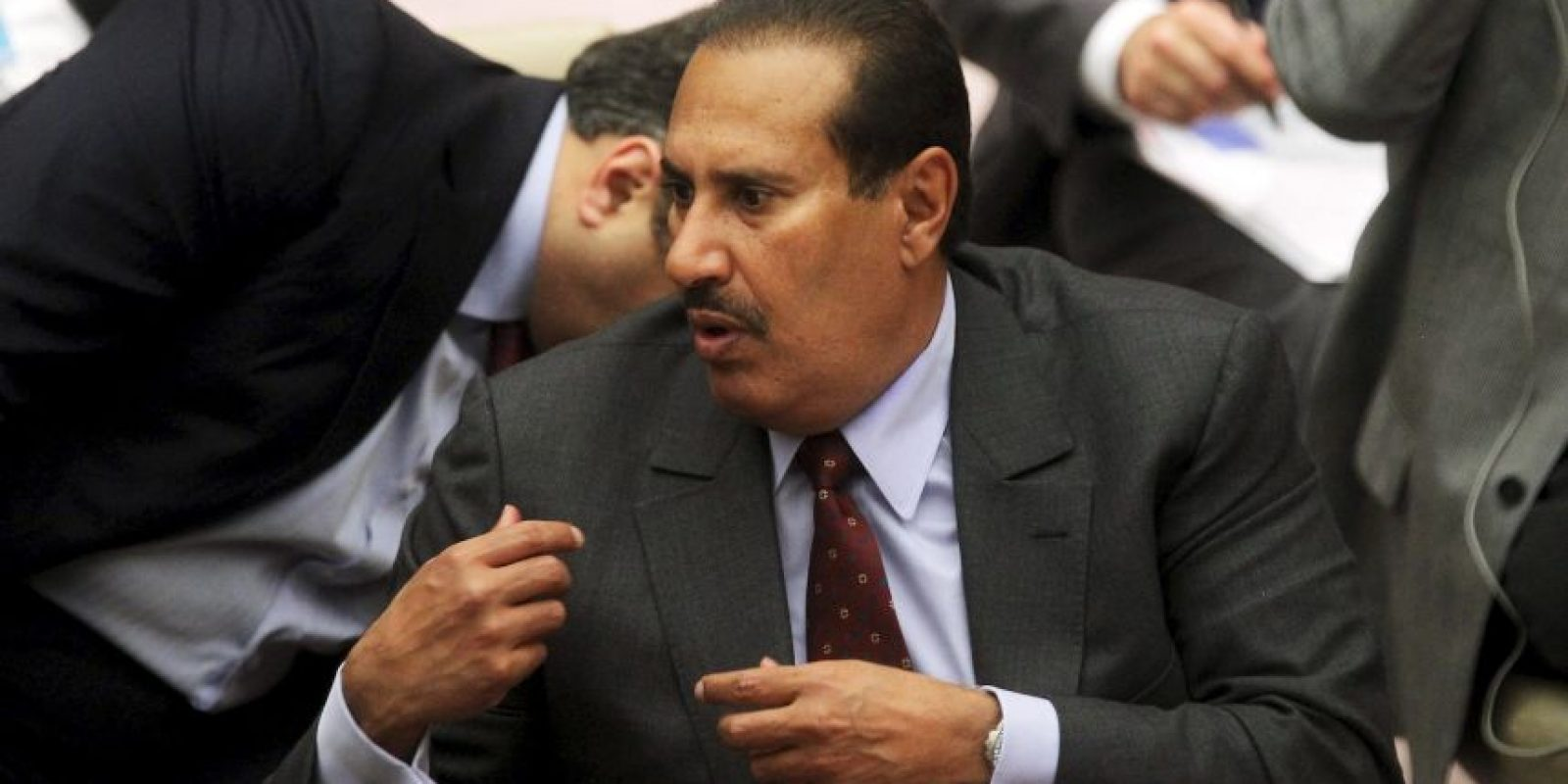Hamad bin Jassim bin Jaber Al Thani, exprimer ministro de Qatar. Foto:Getty Images