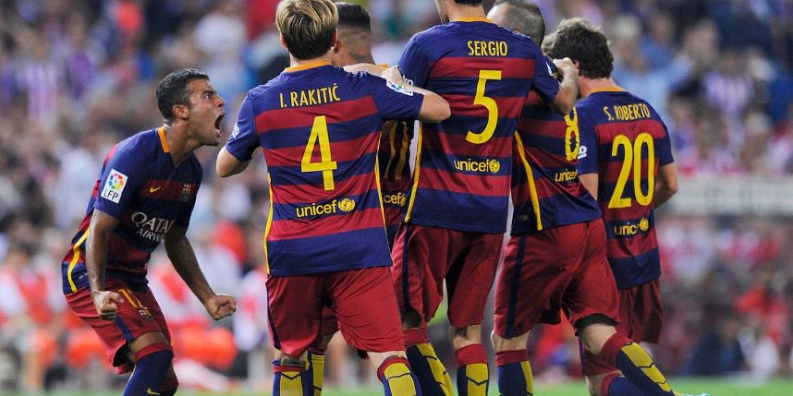 Son los actuales campeones de la Champions y líderes de España Foto:Getty Images