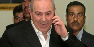 Ayad Allawi, exprimer ministro de Iraq. Foto:Getty Images
