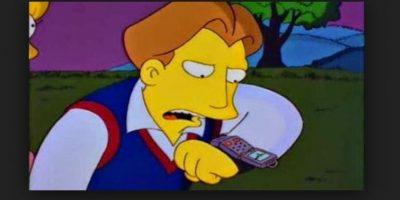 """En 1995, en el episodio """"La boda de Lisa"""", su prometido hace una llamada a través de su reloj. Ahora la gente goza de estos beneficios. Foto:Fox"""