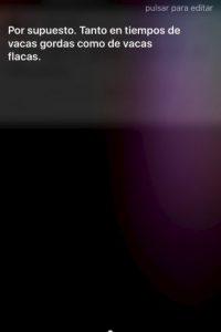 Las capturas de pantalla con respuestas de Siri son una tendencia en las redes. Foto:Tumblr