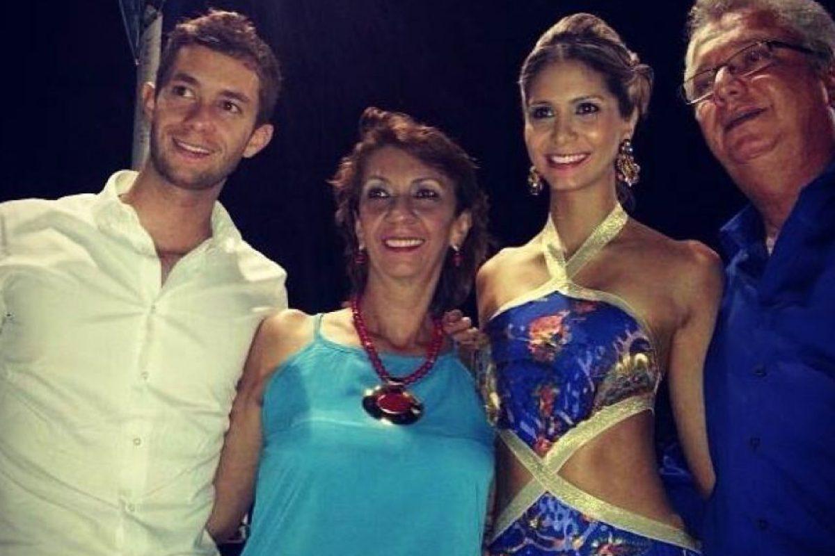 Su hermana, Ángela María Rojas, fue candidata al Reinado Nacional de la Belleza en 2008 Foto:Tomada de www.facebook.com/magdalena.r.5/