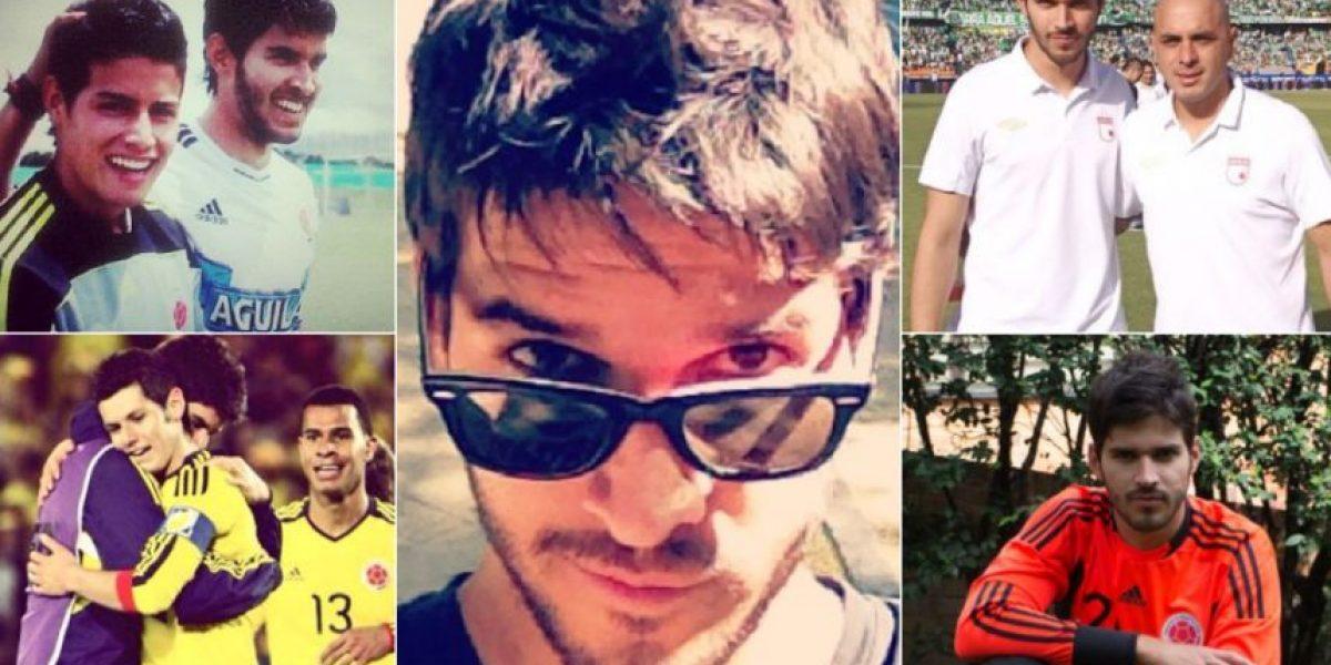 Juan Villate jugaba con James Rodríguez y ahora es modelo
