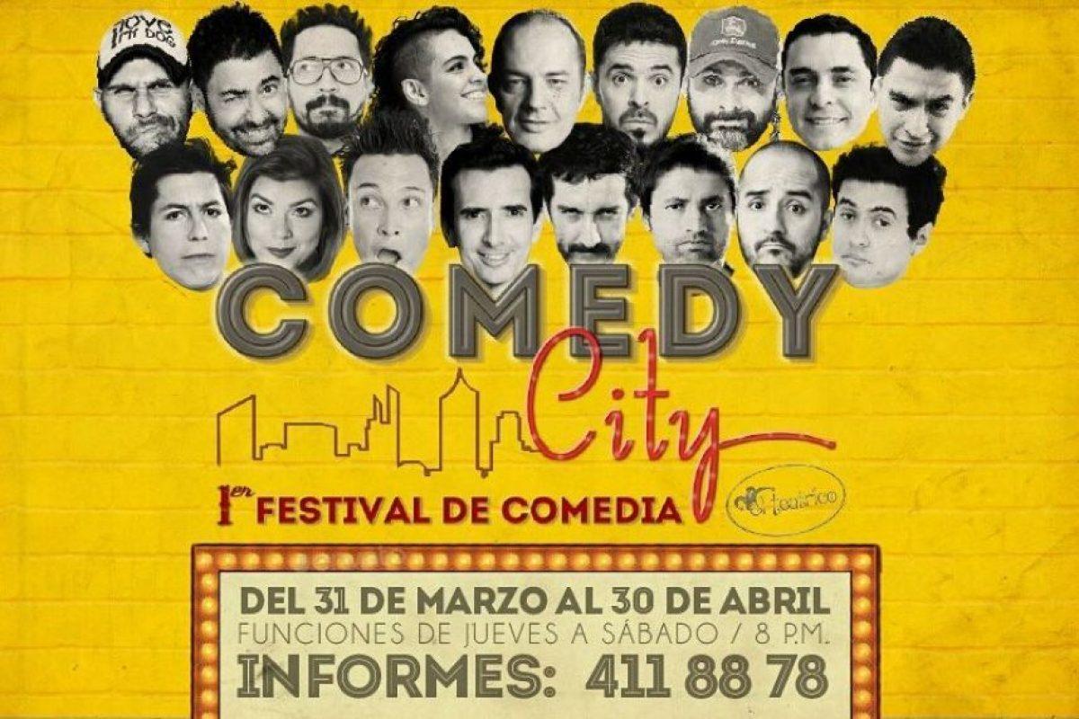 El Festival de comedia urbana: Comedy City; con la presentación de Pamela Ospina, Julián Arango, Duego Mateus, el Anfitrión será Dani Hoyos. Foto:Tomada de instagram El teatrico